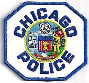 This is a Chicago Police patch that is worn on the uniform.